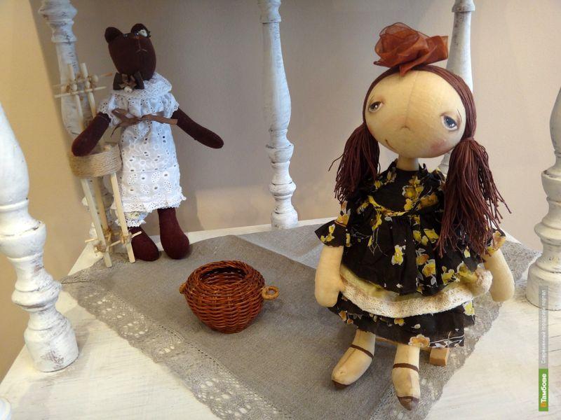 Мастера-кукольники показали тамбовчанам своих «детей»