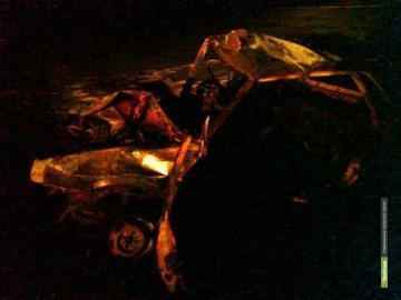 На Набережной Тамбова обгорели два авто