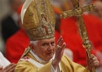 Папа римский Бенедикт XVI отрекается от престола