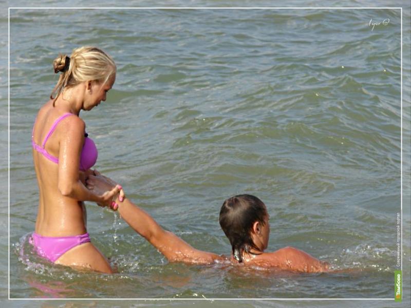 На тамбовских пляжах будет дежурить девушка-спасатель