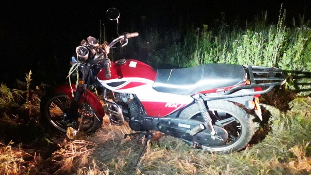 В Моршанском районе водитель мопеда не справился с управлением