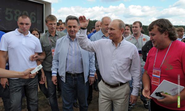 Актер из Тамбова попросил у Владимира Путина репертуарный совет