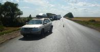 На Тамбовщине грузовик въехал в два автомобиля