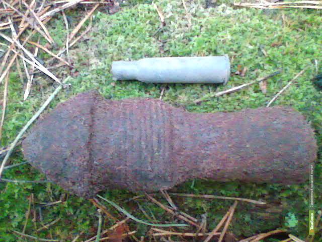 ВТамбове местный житель нашел учебный снаряд