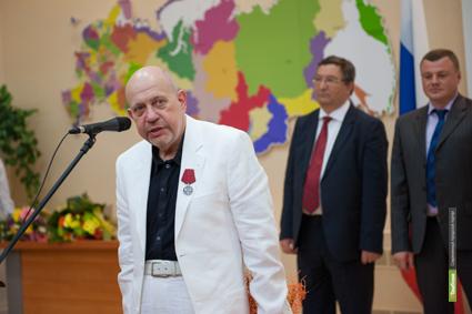 Ректора ТГУ наградили за заслуги перед отечеством