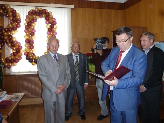 Тамбовчанин получил ведомственную награду от Минсельхоза