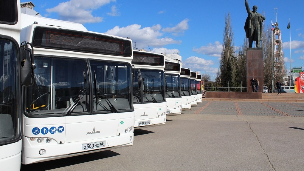 В расписании тамбовского городского транспорта появились изменения