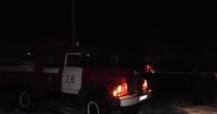 В результате пожара в Петровском районе погиб мужчина