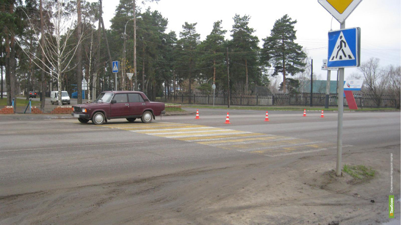 На Рассказовском шоссе девушка на «семёрке» сбила пенсионерку