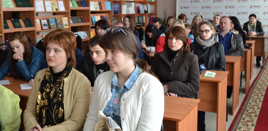 День открытых дверей для абитуриентов провел Тамбовский филиал РАНХиГС