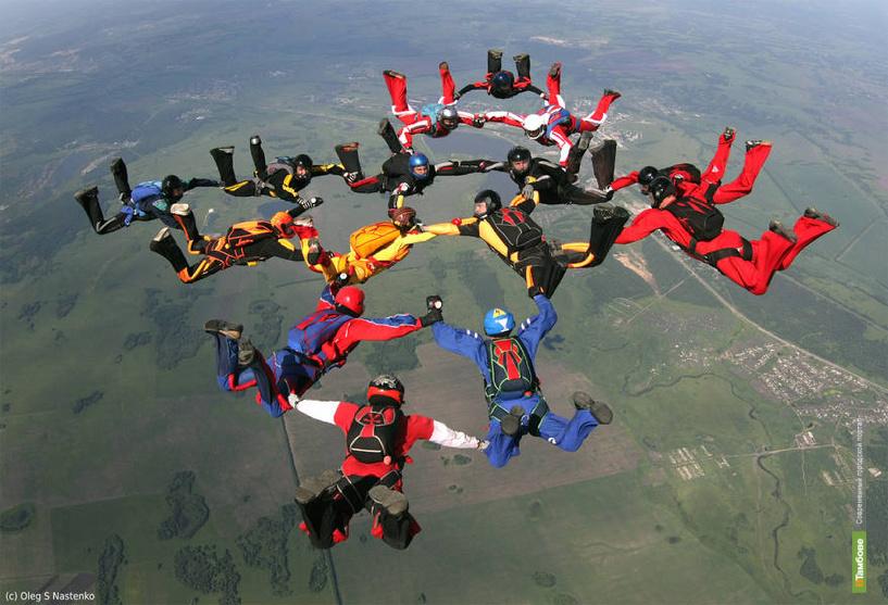 В Тамбове пройдет турнир по парашютному спорту