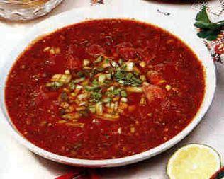 В меню тамбовских школ появится суп-пюре гаспачо
