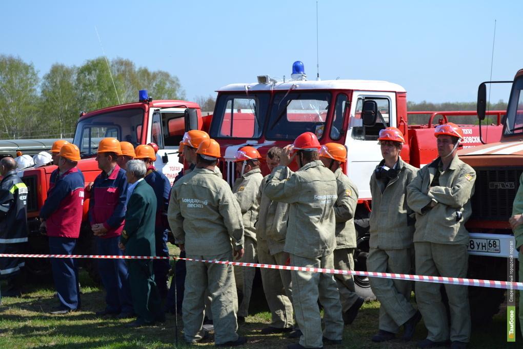 МЧС вербует тамбовчан в добровольные пожарные команды