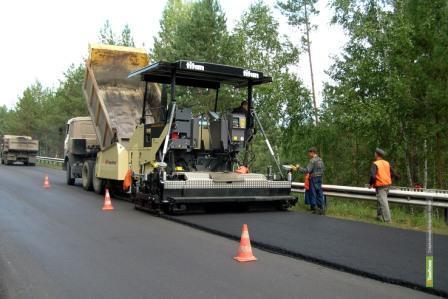 Дорожники расширят трассу между Сосновкой и Дмитриевкой