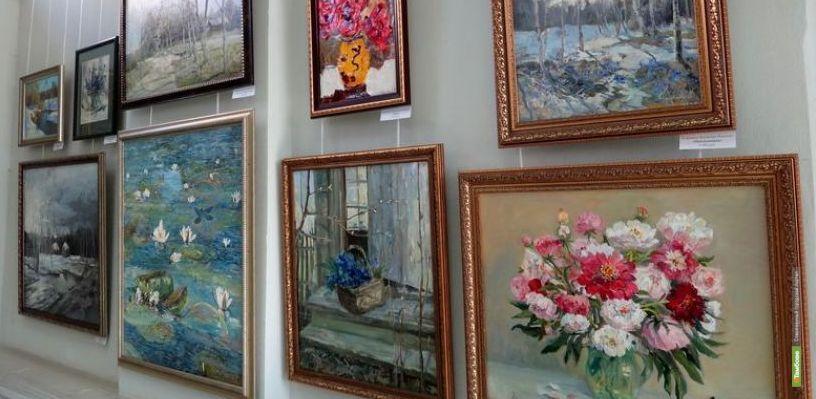 В Тамбове открывается областная художественная выставка