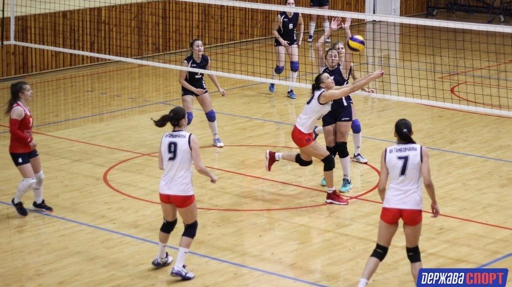 Тамбовские волейболистки обыграли три команды-соперницы