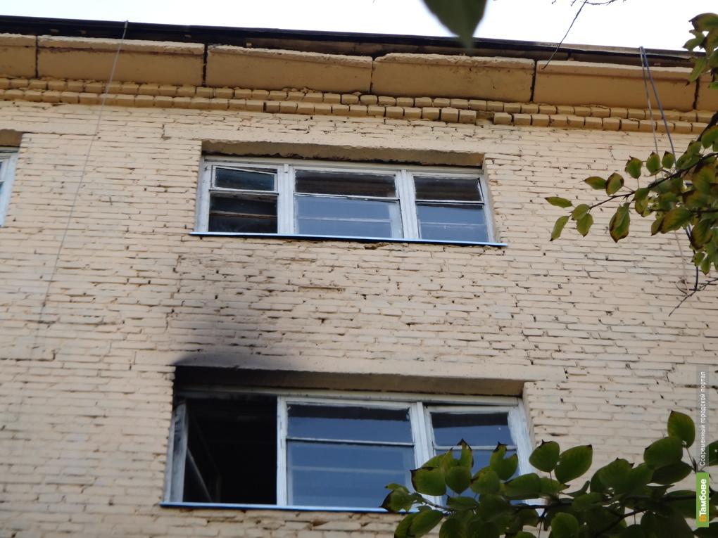 В Тамбовском общежитии едва не сгорела молодая семья с двумя детьми