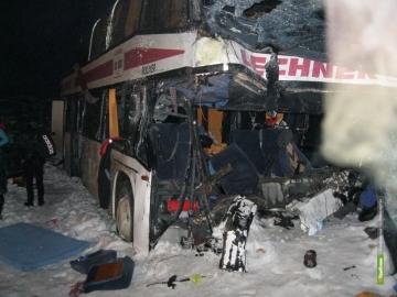 8 человек пострадали в ДТП с автобусом под Тамбовом