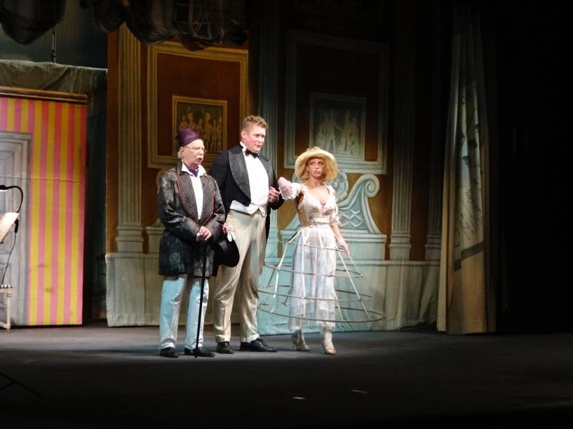Московский театр представил спектакль на тамбовской сцене