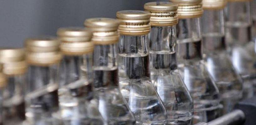 Бутлегеры производят порядка 500 тысяч нелегальных бутылок водки в год