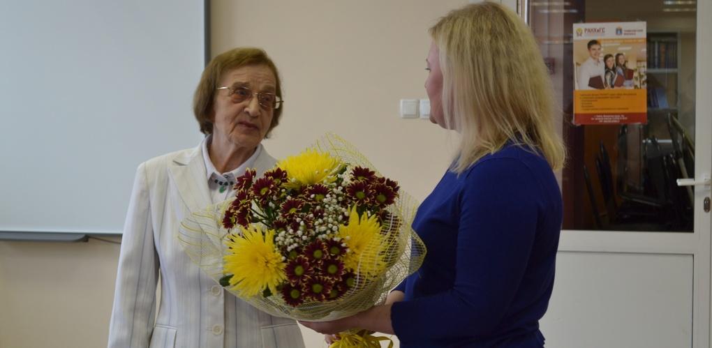 В Тамбовском филиале РАНХиГС прошла встреча с Валентиной Дорожкиной