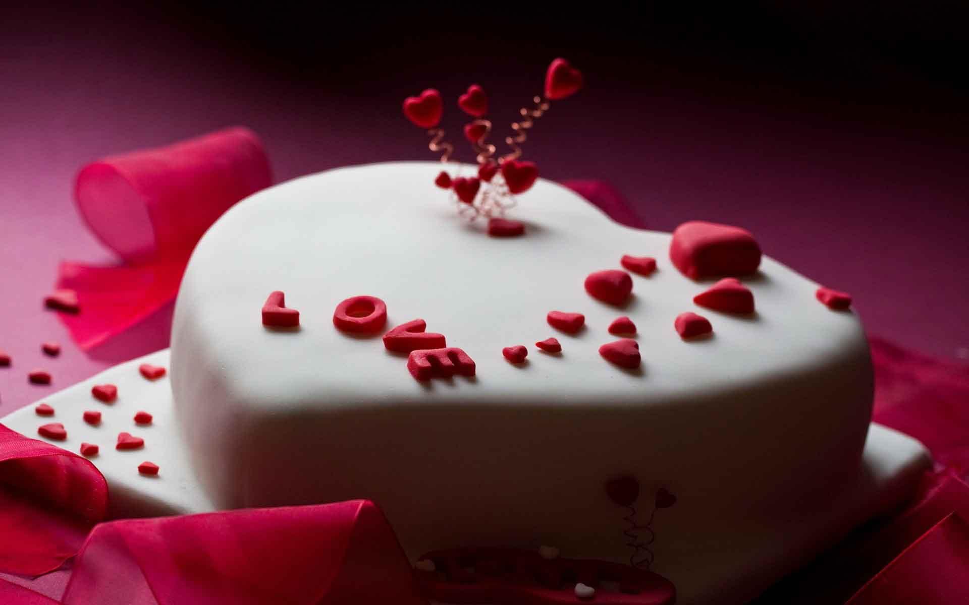 Картинки тортов к дню святого валентина