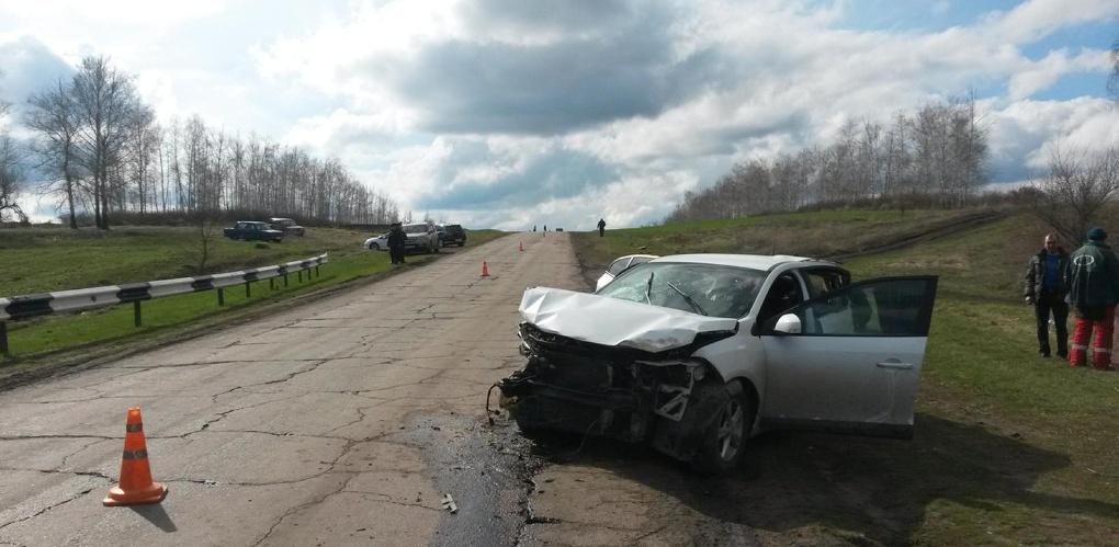 После столкновения с «Хондой» автомобиль «Рено» перевернулся: есть погибший и пострадавший