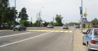 На выезде из Тамбова велосипедист-нарушитель попал под машину