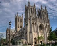 От землетрясения пострадали шпили Вашингтонского собора
