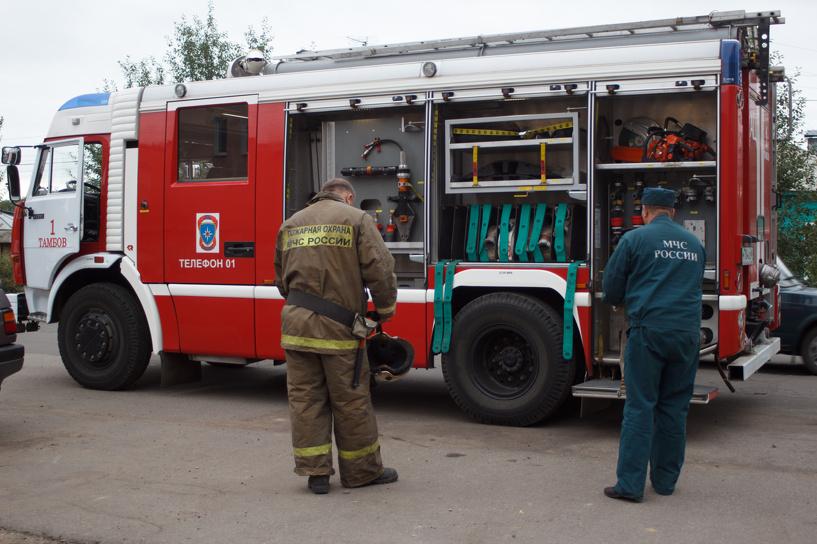 В результате пожара в Кирсановском районе погиб мужчина