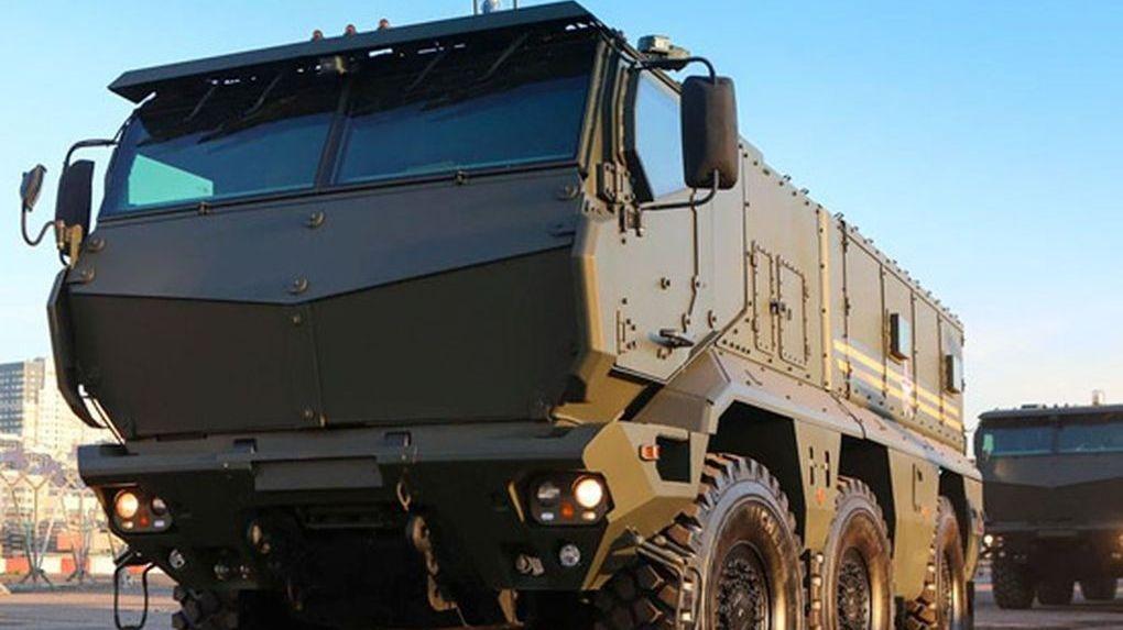 На тамбовском полигоне испытывают новейший бронеавтомобиль «Тайфун»