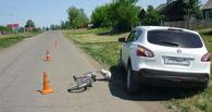 В Петровском районе 8-летняя велосипедистка угодила под машину