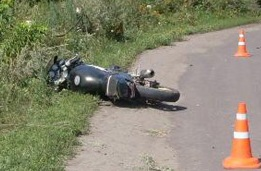 В Сосновском районе мотоциклист разбился насмерть