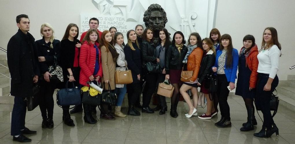 Первокурсники Тамбовского филиала РАНХиГС получили читательские билеты в Пушкинской библиотеке