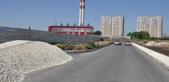До ноября в северной части города заасфальтируют более 8 километров дорог