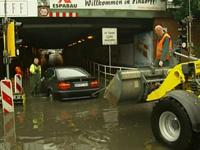 Европа пострадала от сильнейших ливней