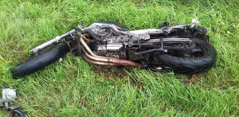 На трассе под Тамбовом в результате ДТП погиб мотоциклист