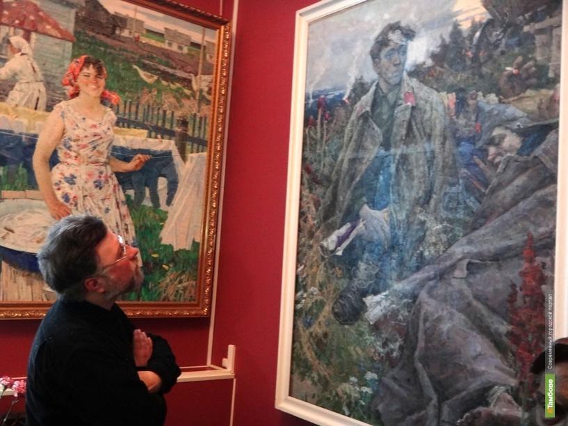 Из хранилищ тамбовской галереи извлекли шедевры Алексея Краснова