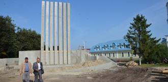 Строительство мемориала в Рассказово вышло на финишную прямую