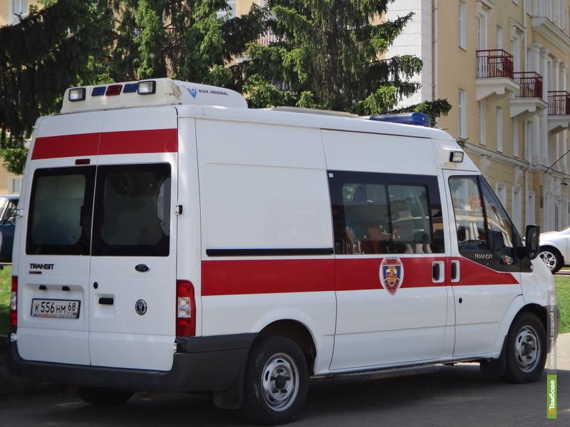 В Тамбовском районе велосипедист пострадал под колесами автобуса