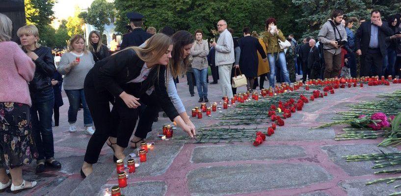 В патриотической акции «Свеча памяти» приняли участие более двух тысяч тамбовчан