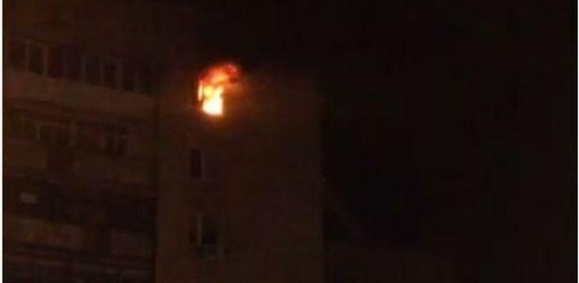 В Тамбове сгорела квартира в одном из жилых домов на Советской
