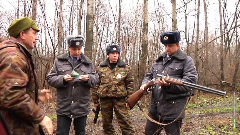 Тамбовский ОМОН прочесал леса в поисках браконьеров