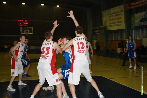 Тамбовские баскетболисты дважды проиграли рязанцам