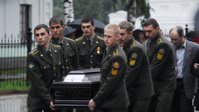 Вчера в Ярославле похоронили погибших хоккеистов