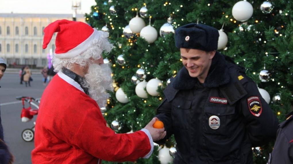 Новогодняя ночь прошла в Тамбове без серьезных нарушений. Полицейские отчитались о первом дежурстве