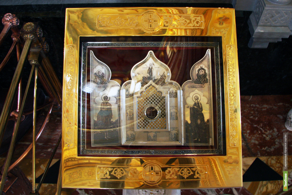 В Тамбов привезли четыре святыни