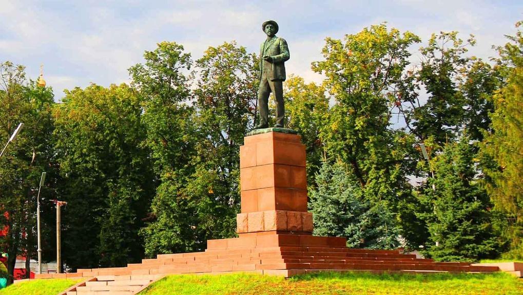 Памятник Мичурину отреставрируют за два с половиной миллиона рублей