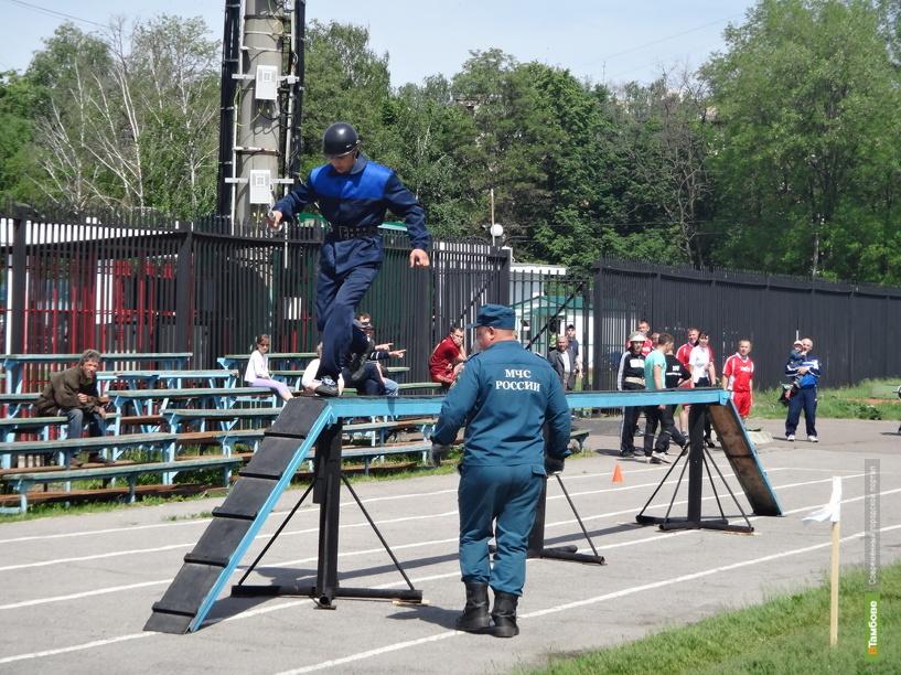 В Тамбове прошел чемпионат области по пожарно-прикладному спорту