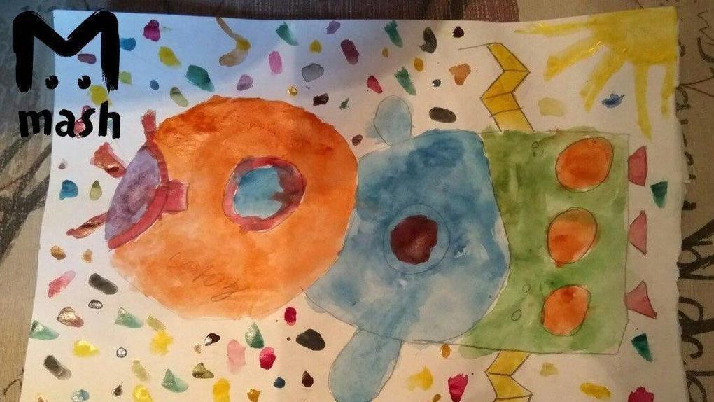 Какого цвета звёзды? Роскосмос помог мальчику сделать домашнее задание по рисованию